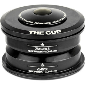 Sixpack The Cup Dirección ZS49/28.6 I ZS49/30, black